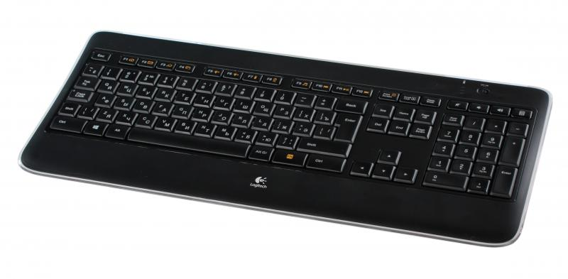 Logitech Wireless Illuminated Keyboard K800 Black USB