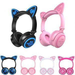 MindKOO Wireless Cat Ear Headfones