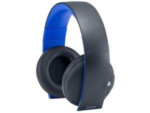Sony Gold Wireless Stereo Headset 2.0 (Black) (PS4)